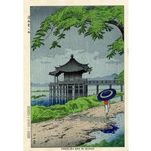 藤島武二: Drizzling Rain in Ukimido - Japanese Art Open Database