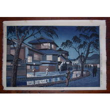 藤島武二: Kiyamachi Street, Kyoto — 木屋町 - Japanese Art Open Database