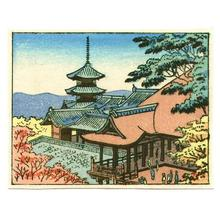 藤島武二: Kiyomizu Temple - Japanese Art Open Database