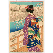 藤島武二: Maiko - Japanese Art Open Database