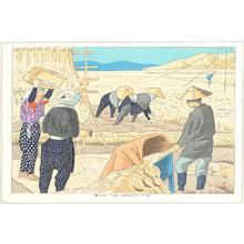 Fujishima Takeji: The Harvest Time — 取り入れ - Japanese Art Open Database