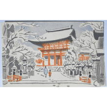 Fujishima Takeji: Kasuga Shrine - Japanese Art Open Database