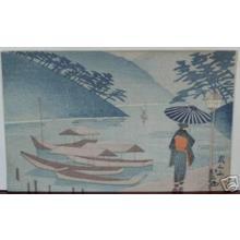 Fujishima Takeji: Arashiyama - Japanese Art Open Database