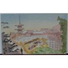 Fujishima Takeji: Kiyomizu Temple - Japanese Art Open Database