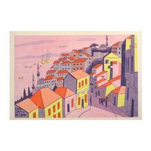Fujishima Takeji: Izmir, Turkey — トルコ イズミル - Japanese Art Open Database