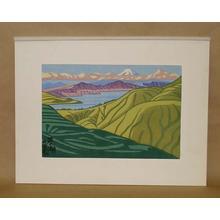 Fujishima Takeji: Ashinoko — 芦ノ湖 - Japanese Art Open Database