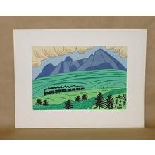 藤島武二: Hokkaido Komagatake- Komagadake — 北海道駒ヶ岳 - Japanese Art Open Database