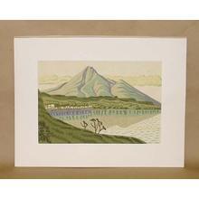 Fujishima Takeji: Inawashiroko — 猪苗代湖 - Japanese Art Open Database