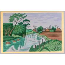 Fujishima Takeji: Itako - Japanese Art Open Database