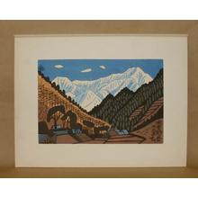 Fujishima Takeji: Kiso Komagatake- Komagadake — 木曽駒ヶ岳 - Japanese Art Open Database