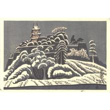 Fujishima Takeji: Murukame Castle - Japanese Art Open Database