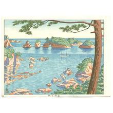 Fujishima Takeji: Matsushima Island in Ki Province — Ki no Matsushima - Japanese Art Open Database
