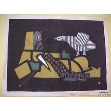 Azechi Umetaro: Asking the Bird — Tori ni Kiku - Japanese Art Open Database