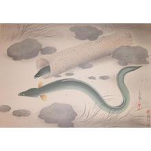 Bakufu Ohno: Eel - Japanese Art Open Database