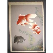 大野麦風: Goldfish - Japanese Art Open Database