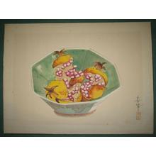 Bakufu Ohno: Bowl of Pomegranates - Japanese Art Open Database