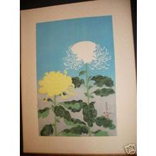 大野麦風: Chrysanthemums- Type 1- Variant 2 - Japanese Art Open Database