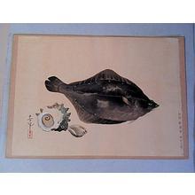 大野麦風: Flounder - Japanese Art Open Database