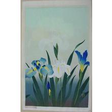 大野麦風: Iris - Japanese Art Open Database