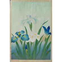 大野麦風: Iris - Japanese Art Open Database
