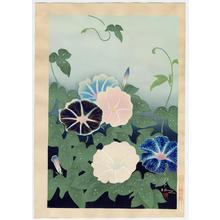 Bakufu Ohno: Morning Glory - Japanese Art Open Database