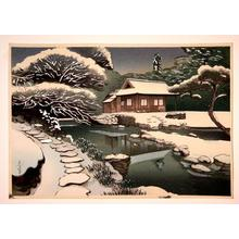 Bakufu Ohno: Unknown, snow scene - Japanese Art Open Database