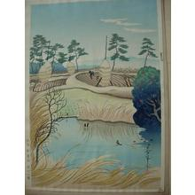 Bakufu Ohno: Early Spring — 早春 - Japanese Art Open Database
