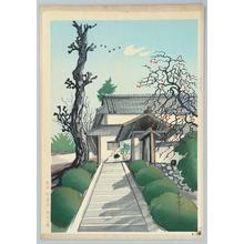 大野麦風: Early Winter Scene — 初冬風景 - Japanese Art Open Database