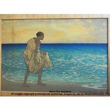 Bartlett Charles: Hawaiian Fisherman - Japanese Art Open Database