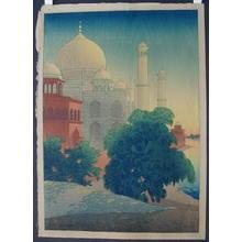 Bartlett Charles: Taj Mahal Sunset - Japanese Art Open Database