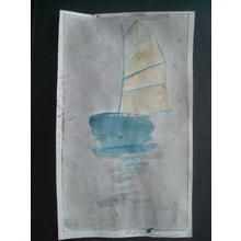 Bertha Lum: Sailboat - Japanese Art Open Database