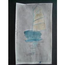 Bertha Lum: Sailboat - Japanese Art Open Database