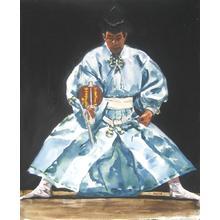 Paul Binnie: Sumo umpire II - Japanese Art Open Database