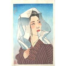 Paul Binnie: Winter- Fuyu- alternative state 2 - Japanese Art Open Database