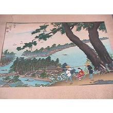 Bisen Fukuda: Amanohashidate - Japanese Art Open Database