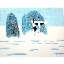 Boyi Hao: Snow on the Birch - Japanese Art Open Database