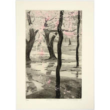 Brayer Sarah: Blossom Flurry - Japanese Art Open Database