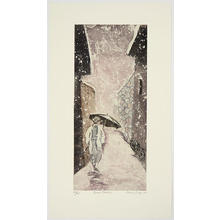 Brayer Sarah: Snow Passage - Japanese Art Open Database