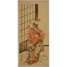 Ippitsusai Buncho: The Actor Ichikawa Komazo 2 in Role of Soga Juro Sukenari — 二世市川高麗蔵の曽我十郎祐成 - Japanese Art Open Database