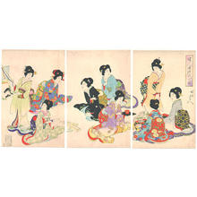 Toyohara Chikanobu: Hanging Scrolls - Japanese Art Open Database