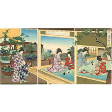 Toyohara Chikanobu: Womens Customs and Ceremonies — 女礼式 - Japanese Art Open Database