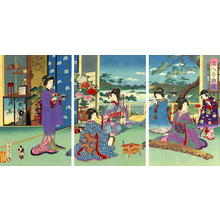 豊原周延: The Music Makers - Japanese Art Open Database