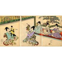 豊原周延: Puppet Theatre - Japanese Art Open Database