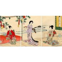 豊原周延: Tanabata Festival — 七夕 - Japanese Art Open Database