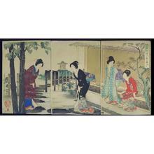 豊原周延: Tea ceremony — 茶の湯 - Japanese Art Open Database