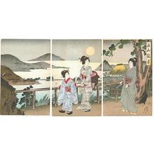 豊原周延: Ishiyama Kangetsu - Japanese Art Open Database