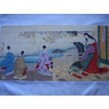 Toyohara Chikanobu: Princess Sannomiya — 二品親王女三宮 - Japanese Art Open Database