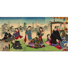 Toyohara Chikanobu: The first three Shoguns of Tokugawa Dynasty - Japanese Art Open Database