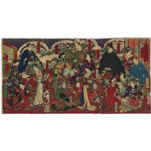 Toyohara Chikanobu: Unknown, kabuki - Japanese Art Open Database