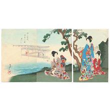 Toyohara Chikanobu: Ocean Side - Japanese Art Open Database